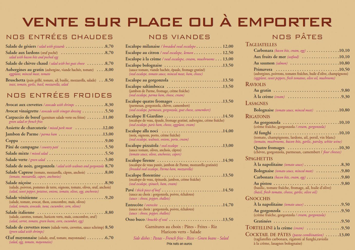 Cliquez Sur Les Images Ci Dessous Pour Visualiser Notre Nouvelle Carte Speciale Ete Des Plats Et Pizzas A Emporter